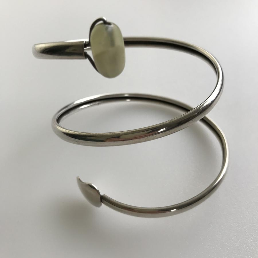 Rey Urban bangle with green stone Sweden 1959