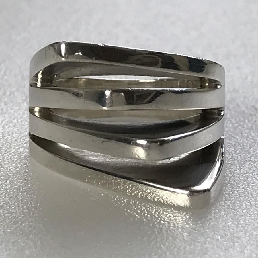 Ring by Soren Borup for S Weitemeyer 1960-70s Denmark