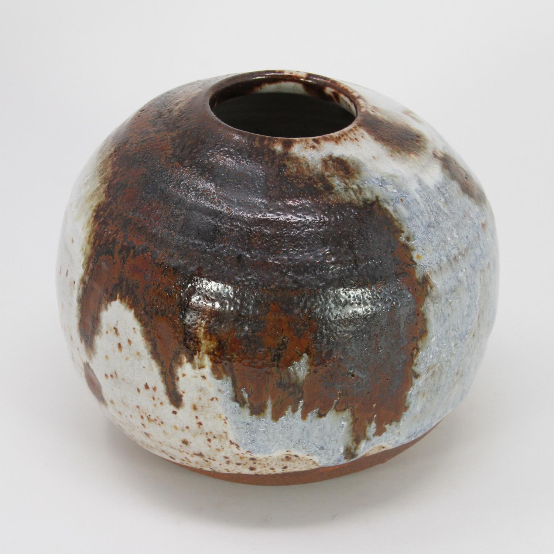 Jorgen Finn Petersen Ceramic Vase Denmark 1960s