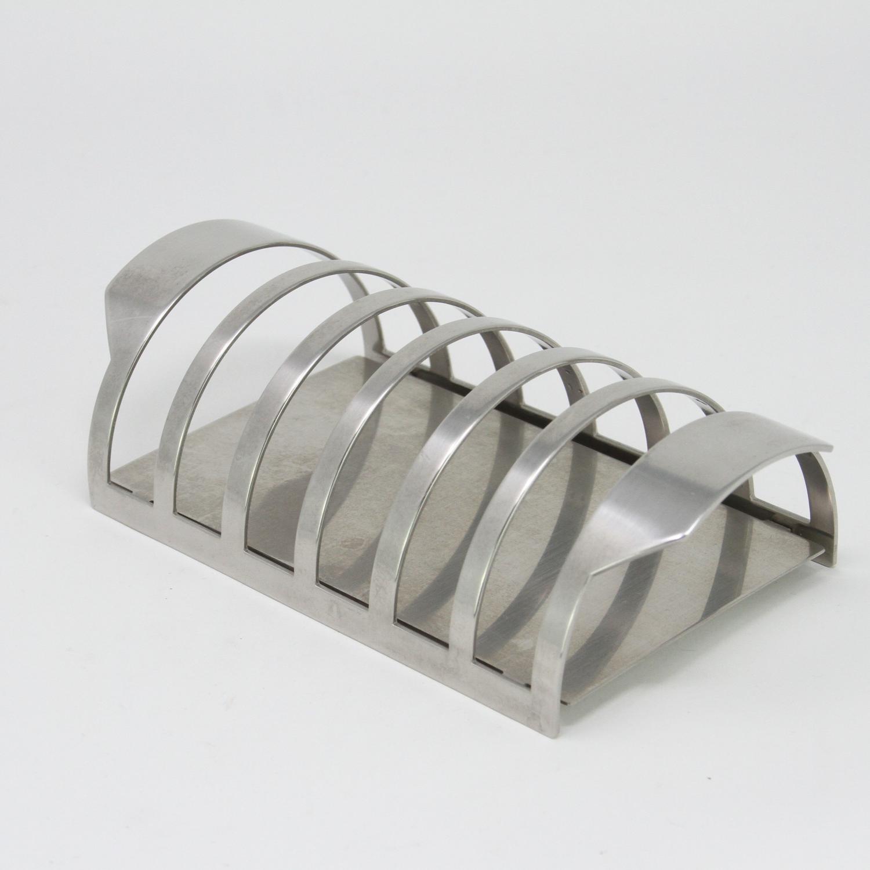 Arne Jacobsen toast rack Cylinda Line Stelton Denmark 1960s