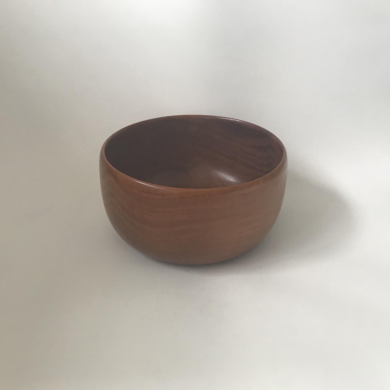 Karl Holmberg Swedish teak bowl 1960s