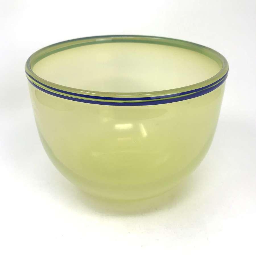 Gunnar Cyren Expo bowl Orrefors Sweden 1966