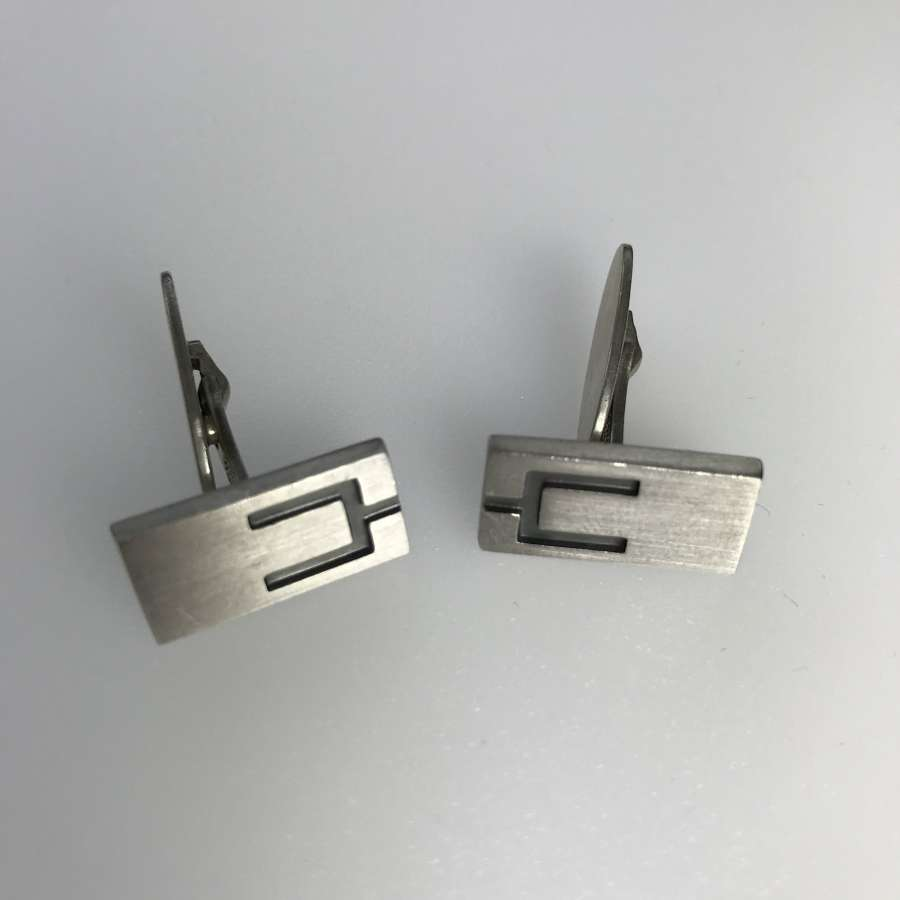 Niels Erik From cufflinks, Denmark c 1970