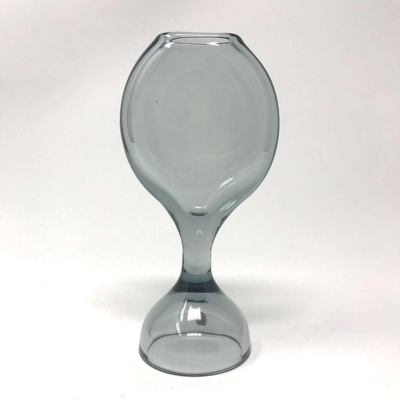 Vicke Lindstrand Glass Vase, Kosta, Sweden 1960s