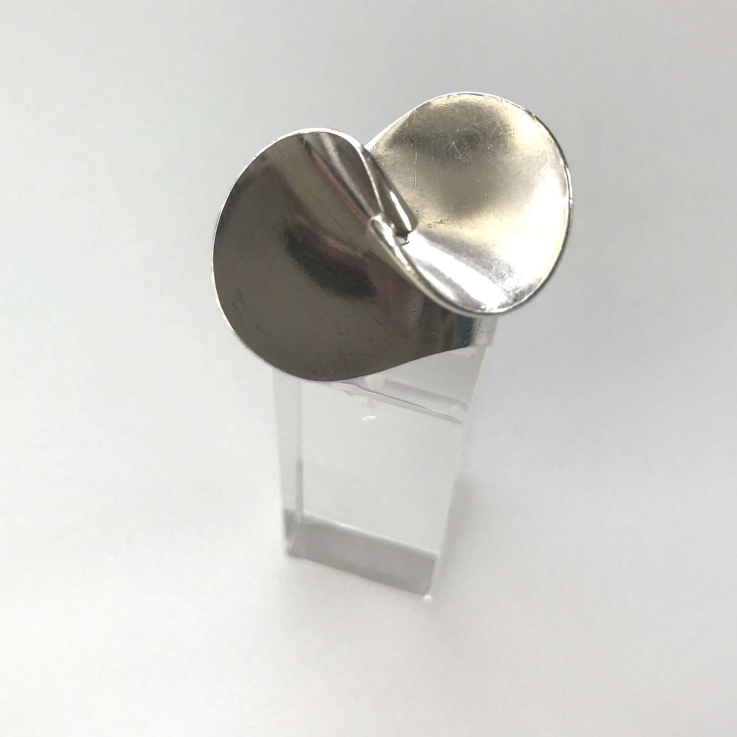 Georg Jensen silver ring by Ibe Dahlquist, Denmark 1960s