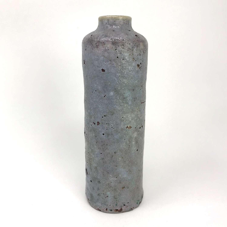 Frans Slot Volcanic Lilac Glazed Vase Netherlands 1967