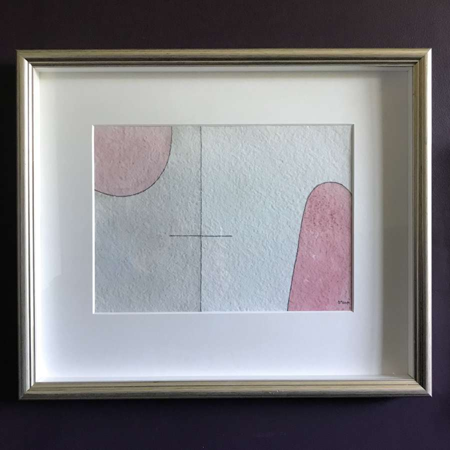 Bengt Orup Abstract Watercolour Sweden no 2