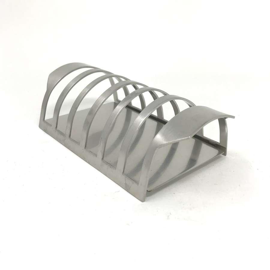 Arne Jacobsen Stainless Steel Toast Rack Stelton Denmark 1960s