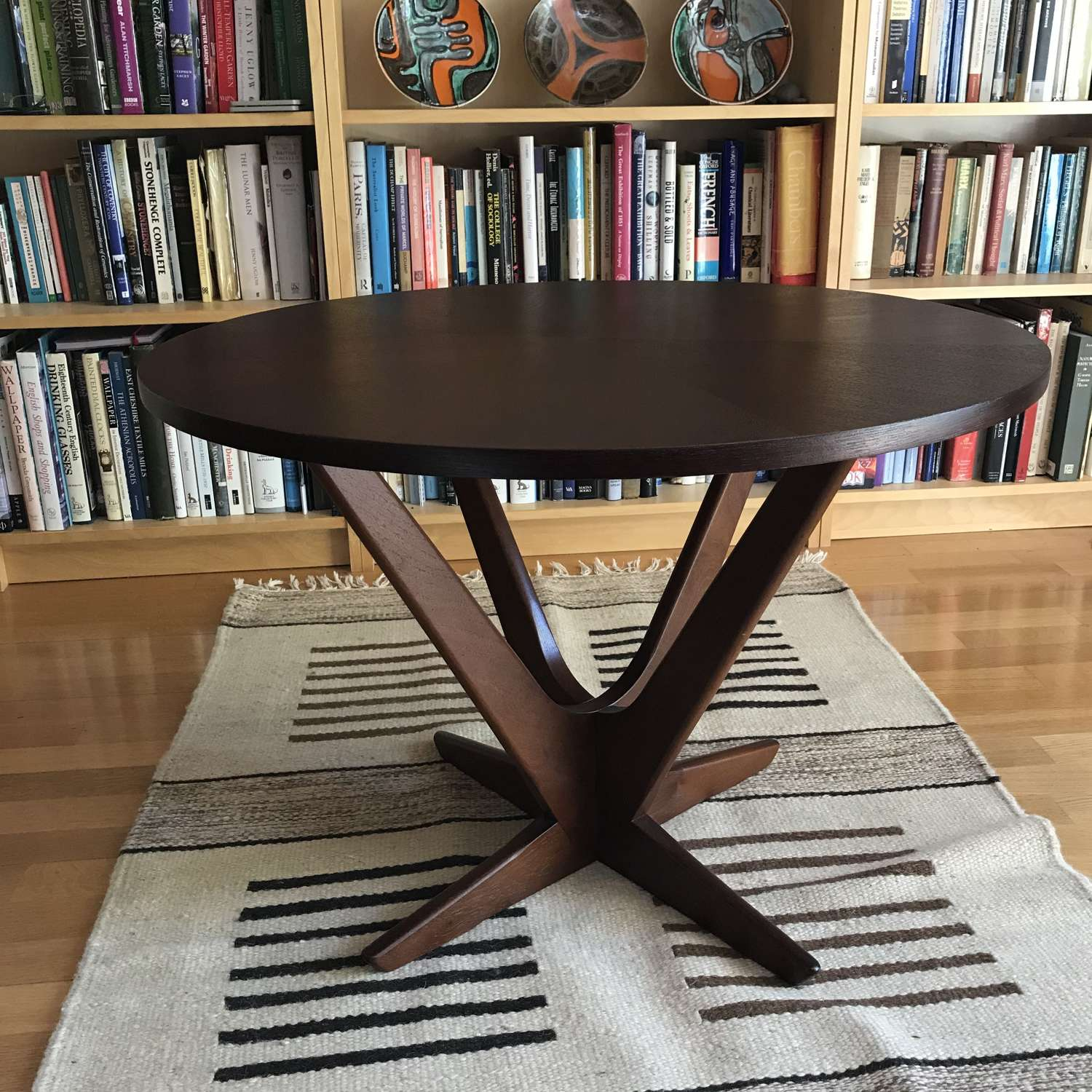 Danish Teak Starburst Coffee Table Soren Georg Jensen Kubus 1960s