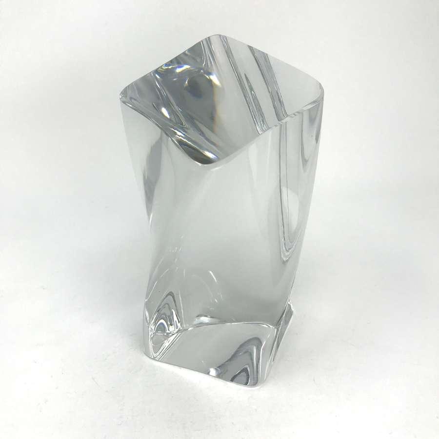 Goran Warff Glass Sculpture Kosta Sweden 1990s