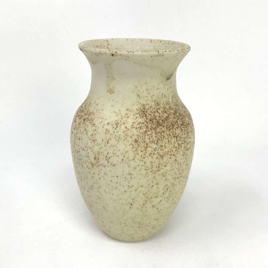 Gunnar Hartman Small Stoneware Vase Sweden c1970s