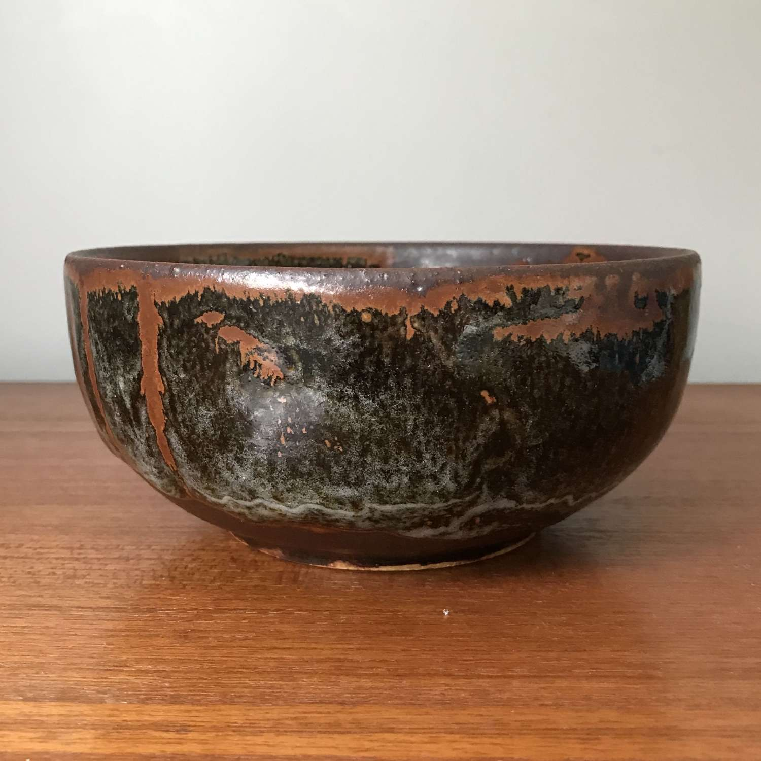 Jorgen Mogensen Unique Bowl Own Studio Denmark 1970s