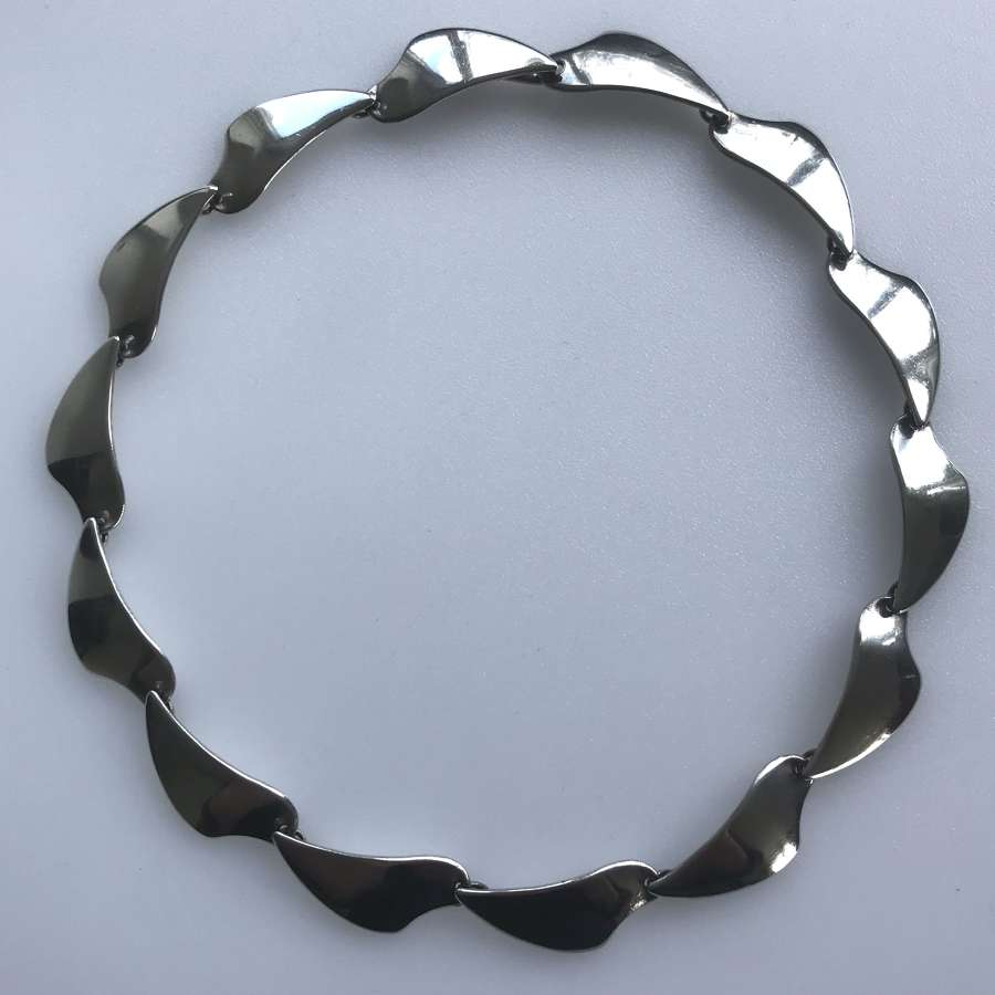 Aarre and Krogh modernist necklace, Denmark 1950-60s