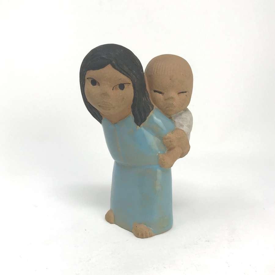 Lisa Larson Children of the World, East Ceramic Figure
