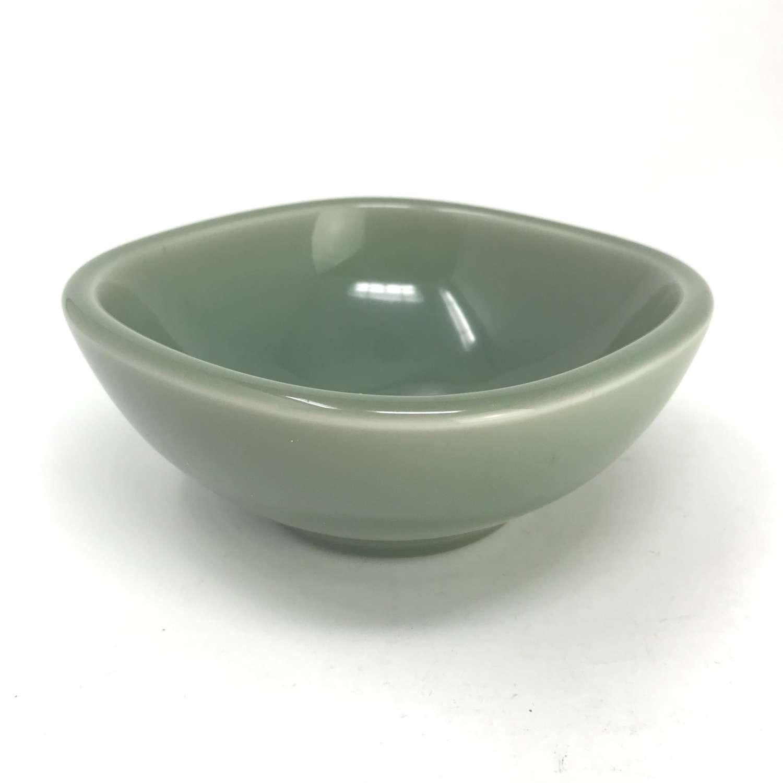 Nils Thorsson Celadon Glazed bowl with Fish Royal Copenhagen 1950s