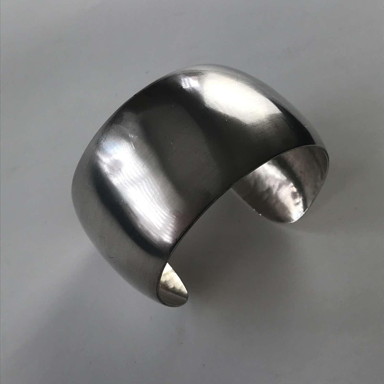 Anton Michelsen silver cuff, Denmark c 1960s