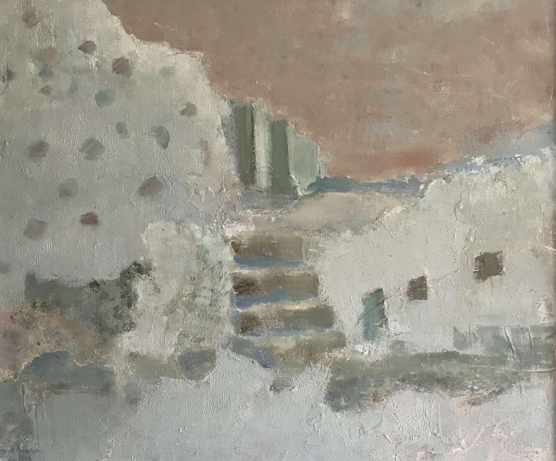 Ingrid Nordstrom Steps, Oil on Canvas Sweden 2002