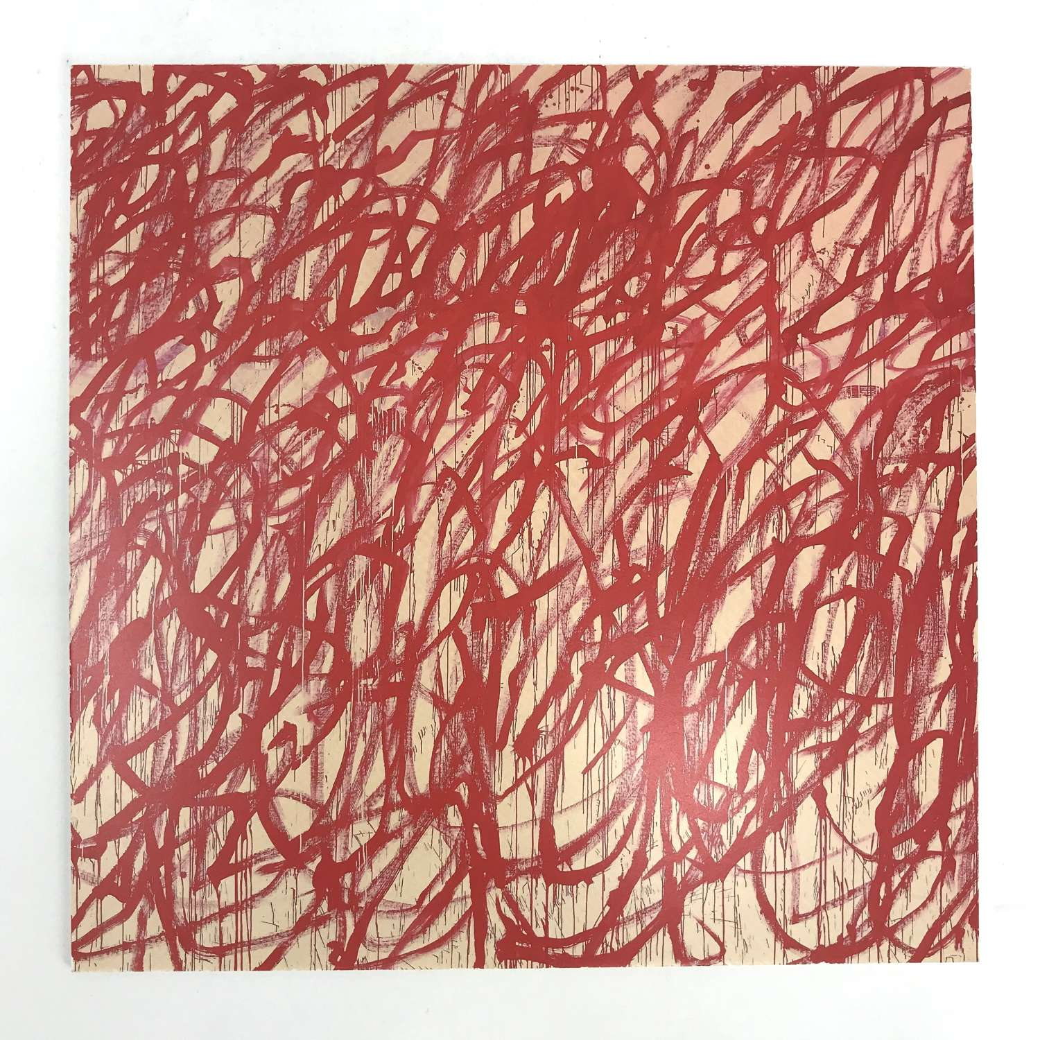 Cy Twombly Exhibition Invite Gagosian Gallery London 2015