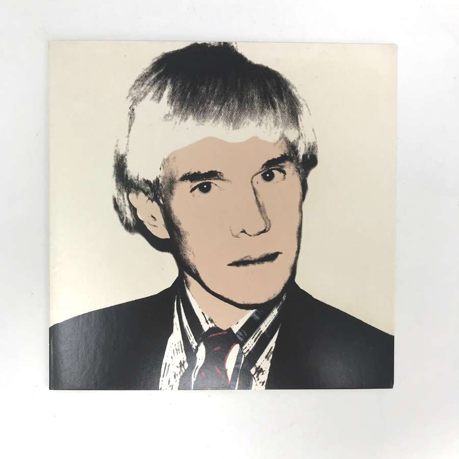 Andy Warhol Exhibition invite card Anthony D'Offay Gallery 1999