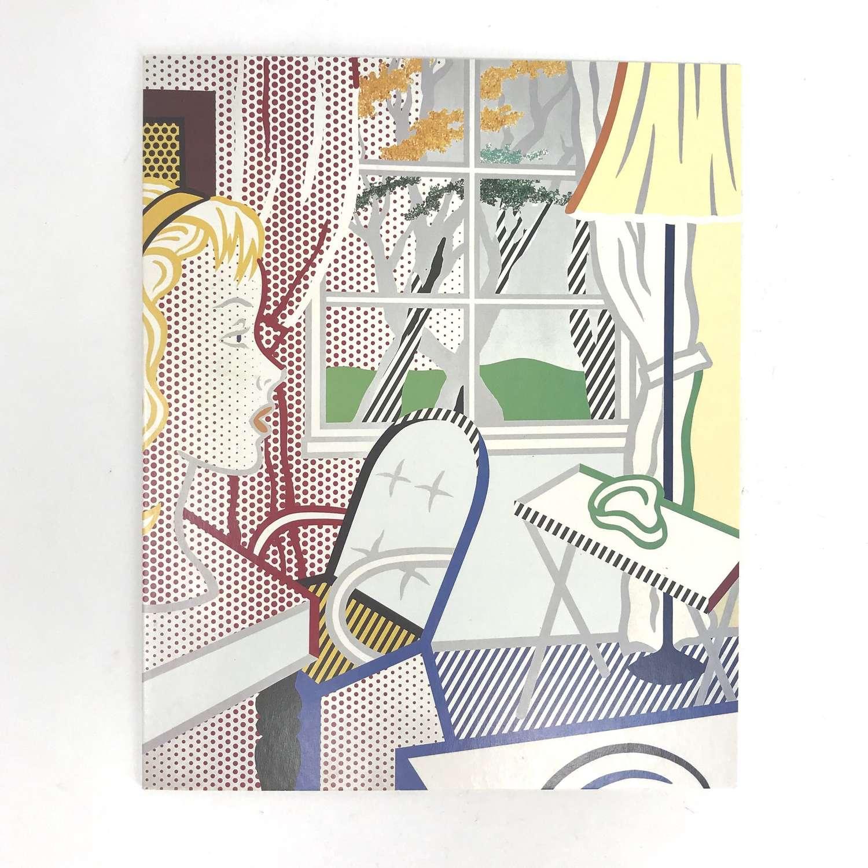 Roy Lichtenstein Private view invitation Anthony d'Offay Gallery 1997