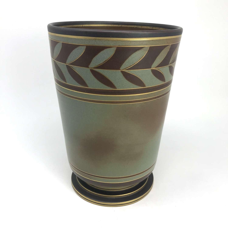 Gunnar Nylund stoneware vase,