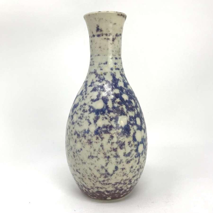 Gunnar Hartman High Fired Stoneware Vase Sweden c1970s