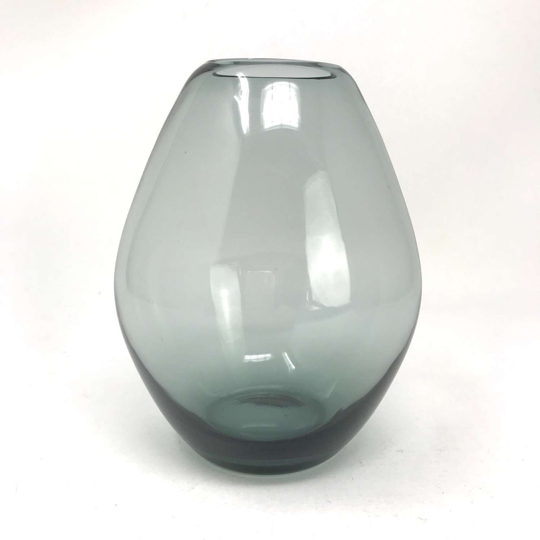 Wilhelm Wagenfeld Bauhaus Tourmaline Glass Vase WMF Germany