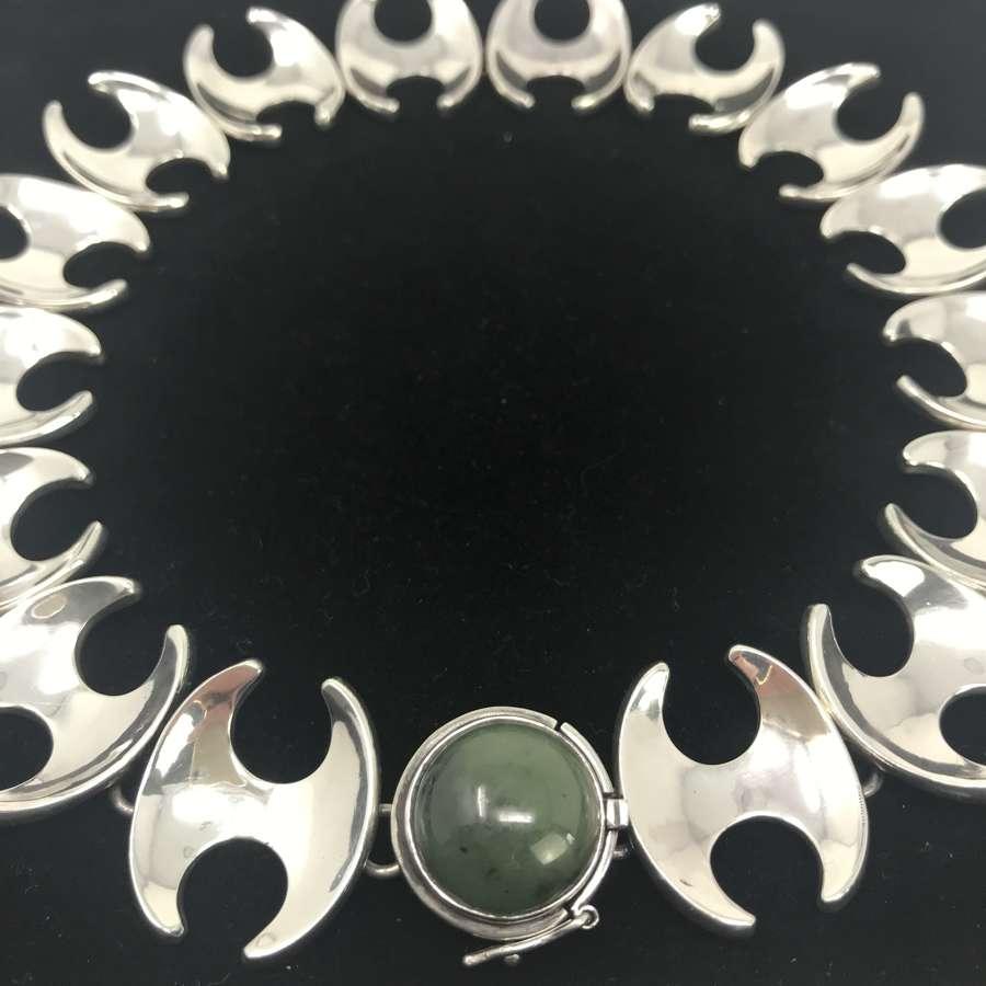 Georg Jensen necklace by Henning Koppel, Denmark 1950s