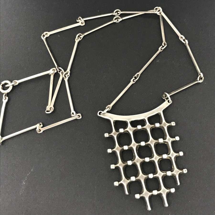Uni David-Andersen Troll Series necklace by Marianne Berg, Norway 1966