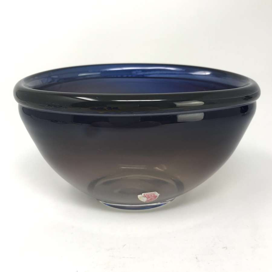 Nils Landberg Expo bowl in brown and blue