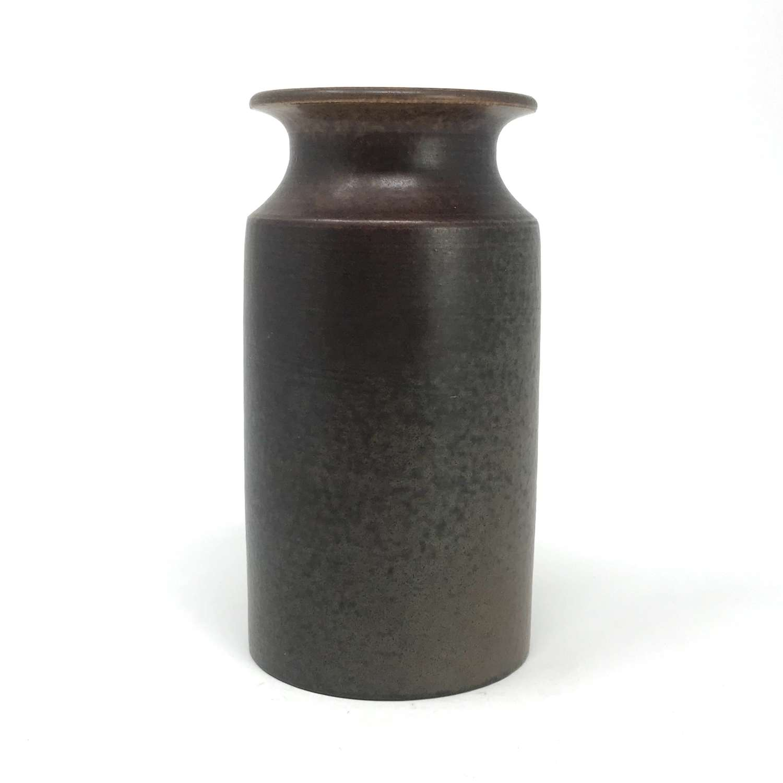 Erich and Ingrid Triller Tobo Stoneware Vase Sweden c1950s