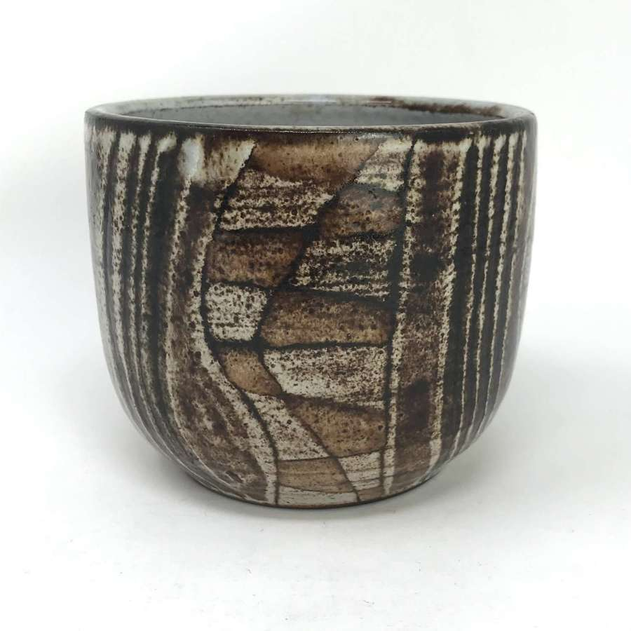 Robert Perot Vallauris ceramic bowl France c1950s