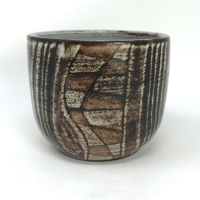 Robert Perot Vallauris ceramic bowl France c1950s
