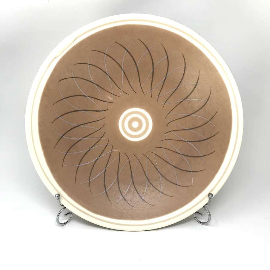 Poole Pottery Freeform Charger Alfred Read 1950s