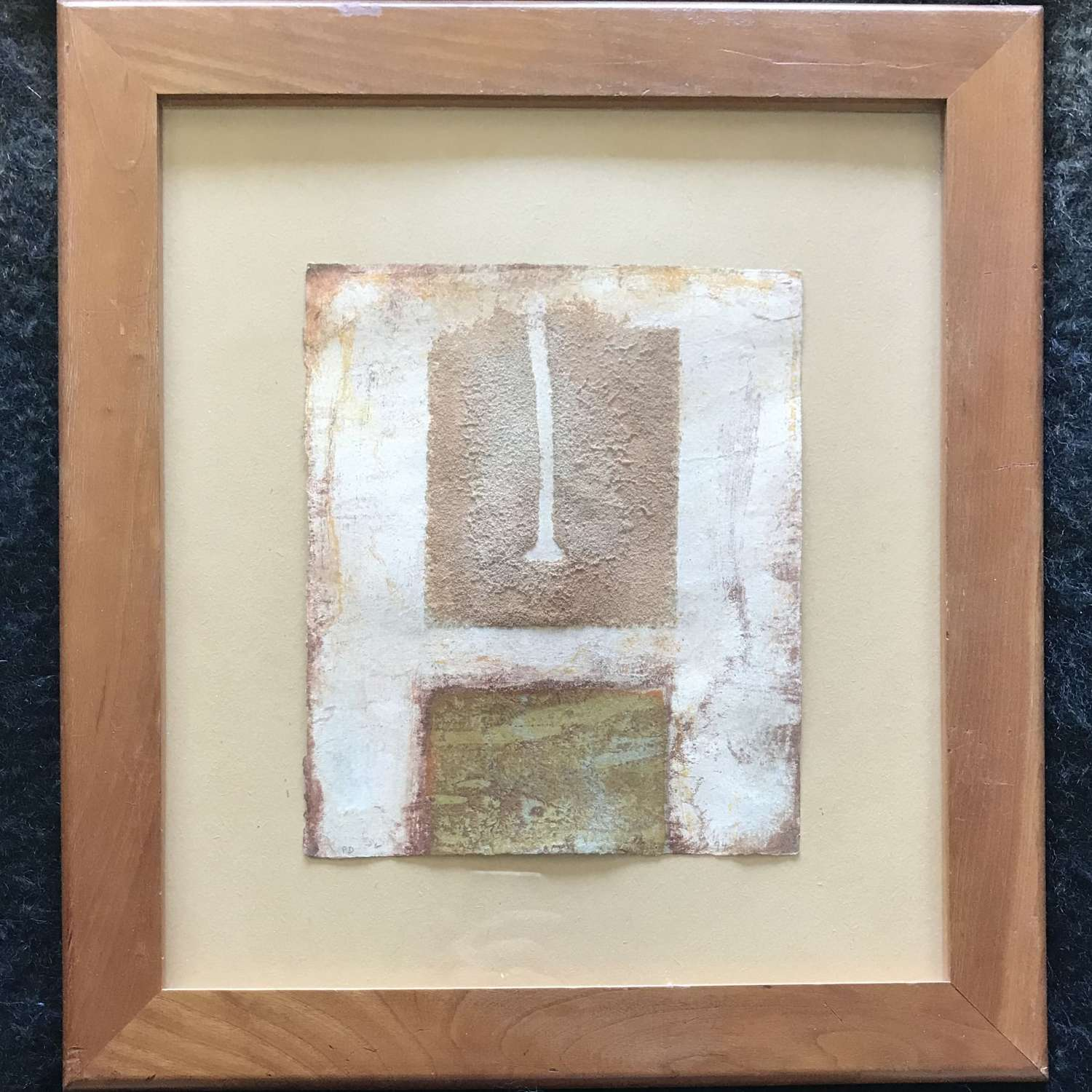 Peter Dover Wirral III Mixed media 1994