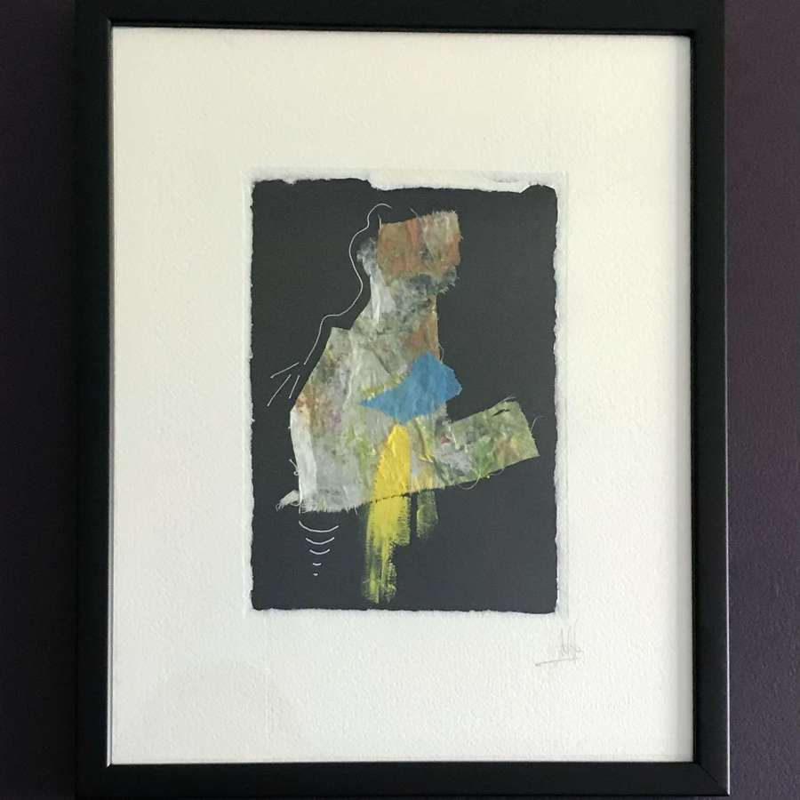 Amparo Climent Mixed media composition 1. Spain