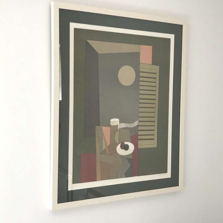 Andre Minaux Lithograph France 1974