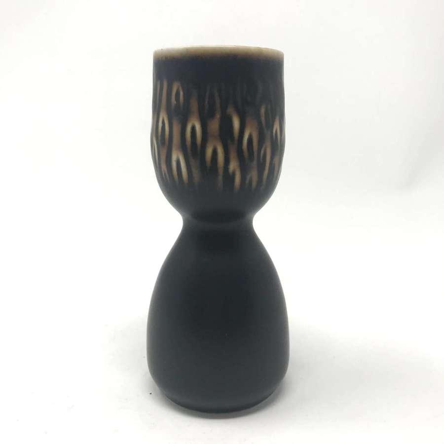 Gerd Bogelund ceramic candle holder Royal Copenhagen Denmark 1960s