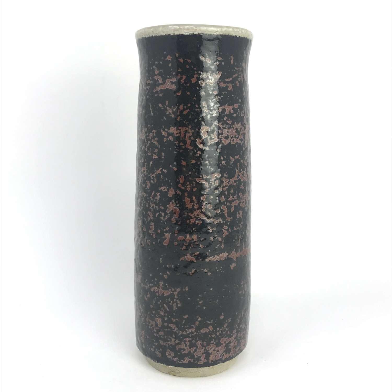 Sylvia Leuchovius studio stoneware vase Rörstrand Sweden 1960s