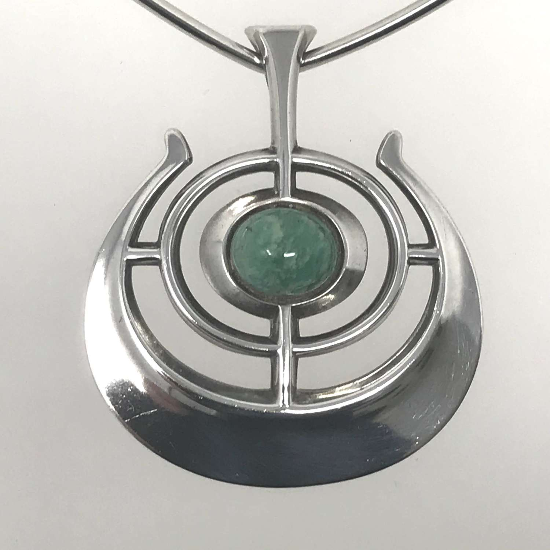 David-Andersen 'Ship of Good Fortune' pendant and torque