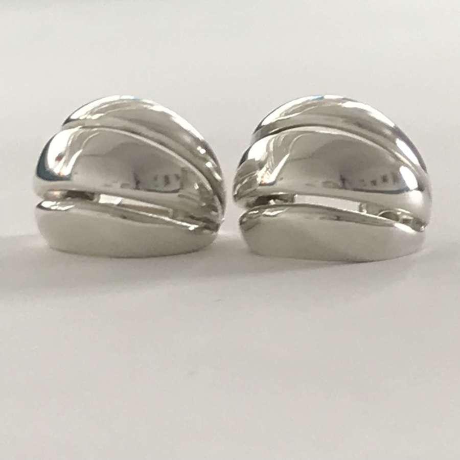 Georg Jensen Melon earrings by Regitze Overgaard Denmark